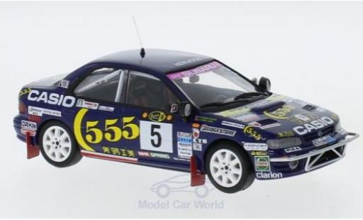 Subaru Impreza 1/43 Trofeu 4x4 Turbo No.5 555 Rallye WM Safari Rallye 1995 R.Burns/R.Reid miniature
