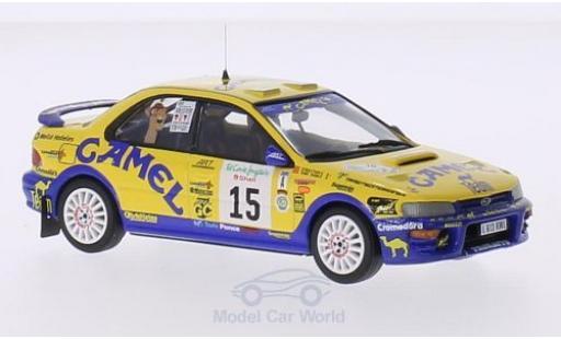 Subaru Impreza 555 1/43 Trofeu No.15 Camel Rallye El Corte Ingles 1997 T.Ponce/S.Garcia miniature
