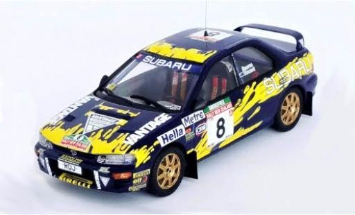 Subaru Impreza 1/43 Trofeu 555 No.8 Rallye WM Rally Neuseeland 1997 P.Bourne/R.Vincent diecast model cars