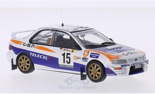 Subaru Impreza 1/43 Trofeu No.15 Galp Rallye Portugal 1999 R.Madeira/N.R.Silva miniature