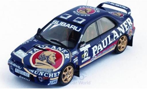 Subaru Impreza 1/43 Trofeu No.2 Paulaner Rally Sumava Klatovy 1997 A.Kremer/S.Behling miniature