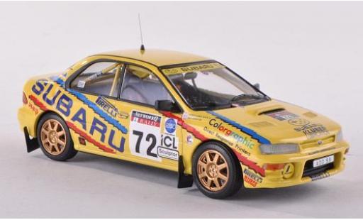 Subaru Impreza 1/43 Trofeu No.72 RAC Rallye 1995 R.Clark miniature