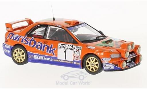 Subaru Impreza WRC 1/43 Trofeu S4 98 No.1 Norisbank Rallye DM Rallye Deutschland 2000 mit Zusatzscheinwerfer A.Kremer/K.Wicha modellautos
