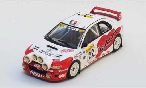 Subaru Impreza 1/43 Trofeu WRC No.22 Bulgari Rallye WM Rally Monte Carlo 1999 A. Dallavilla/D. Fappani miniature
