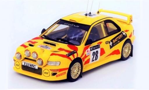Subaru Impreza 1/43 Trofeu WRC No.28 Prodrive WRC RAC Rallye 2002 M.Hirvonen/J.Lehtinen miniature