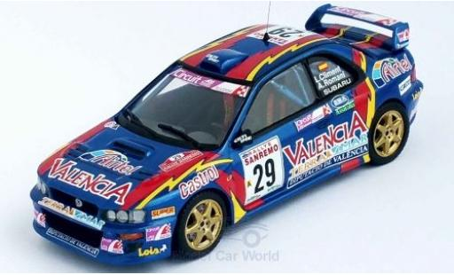 Subaru Impreza 1/43 Trofeu WRC No.29 Valencia Rallye WM Rallye San Remo 1999 L.Climent/A.Romani miniature