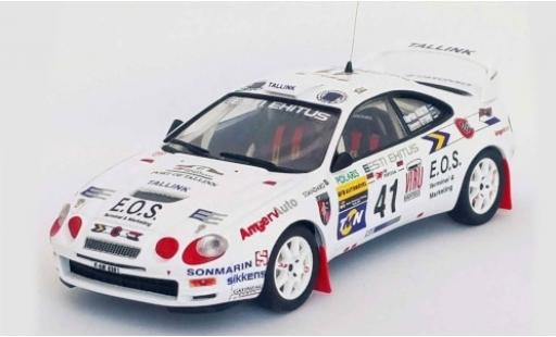 Toyota Celica 1/43 Trofeu GT Four (ST205) No.41 Rallye WM Rallye Portugal 1998 M.Märtin/T.Kitsing miniature