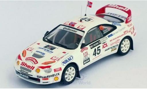 Toyota Celica 1/43 Trofeu GT Four ST205 No.45 Rallye WM RAC Rallye 1998 P.Solberg/C.Menkerud miniature