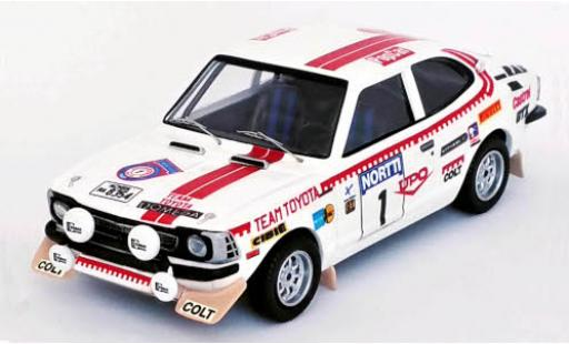 Toyota Corolla 1/43 Trofeu Levin No.1 Rallye WM 1000 Lakes Rallye 1975 H.Mikkola/A.Aho diecast model cars
