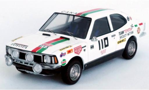 Toyota Corolla 1/43 Trofeu Levin No.110 Team Jacquot Motors Castrol Rally Press-on-Regardless 1973 W.Boyce/D.Woods diecast model cars