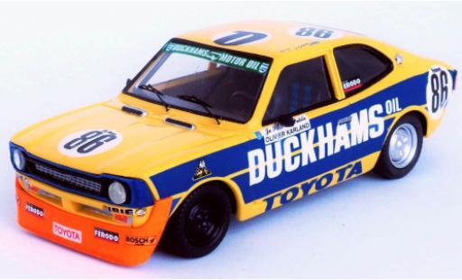 Toyota Corolla 1/43 Trofeu No.86 Duckhams 24h Spa Francorchamps 1977 B.Vanderrest/O.Karland/P.M.Goffin diecast model cars