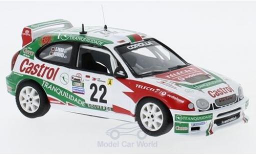 Toyota Corolla WRC 1/43 Trofeu No.22 Rallye WM Rallye Portugal 2001 P.Matos Chaves/S.Paiva miniature