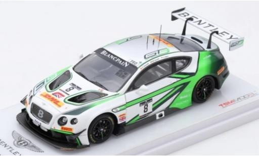 Bentley Continental 1/43 TrueScale Miniatures GT3 No.8 Team M-Sport Blancpain Endurance Series 1000km Paul Ricard 2017 A.Soucek/M.Soulet/V.Abril miniature
