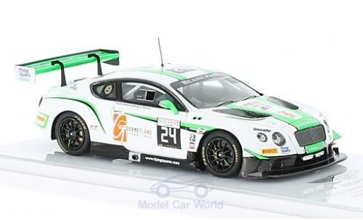 Bentley Continental T 1/43 TrueScale Miniatures G3 RHD No.24 Blancpain G Series 24h Spa 2016 A.Meyrick/.Onslow-Cole/I.Loggie miniature