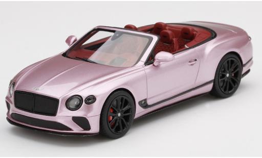 Bentley Continental 1/43 TrueScale Miniatures GTC metallise rose