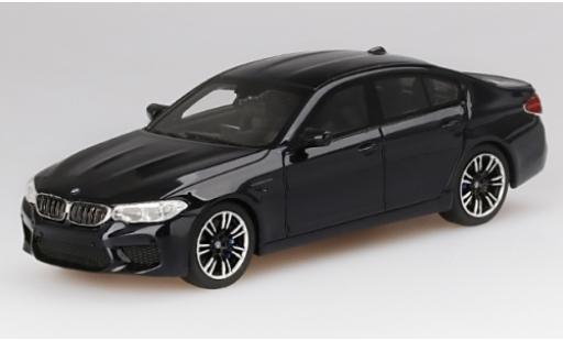 Bmw M5 1/43 TrueScale Miniatures (F90) negro 2018 coche miniatura
