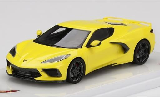 Chevrolet Corvette 1/43 TrueScale Miniatures (C8) Stingray metallise jaune 2020 miniature