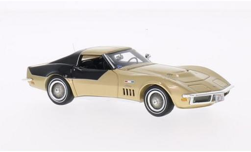 Chevrolet Corvette 1/43 TrueScale Miniatures gold/black 1969 Astrovette Apollo XII diecast model cars