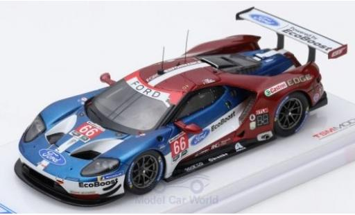 Ford GT 1/43 TrueScale Miniatures No.66 Chip Ganassi Team USA 24h Daytona 2018 S.Bourdais/J.Hand/D.Müller miniature