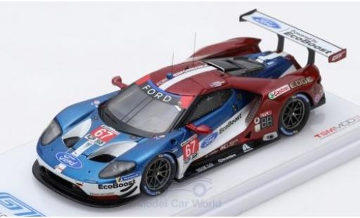 Ford GT 1/43 TrueScale Miniatures No.67 Chip Ganassi Team USA 24h Daytona 2018 R.Briscoe/S.Dixon/R.Westbrook miniature