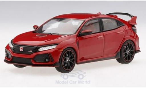 Honda Civic 1/43 TrueScale Miniatures Type R rouge 2017 miniature