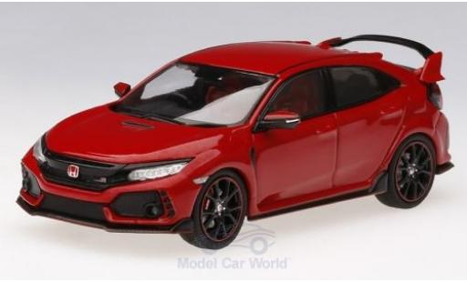 Honda Civic 1/43 TrueScale Miniatures Type R rouge RHD 2017 miniature