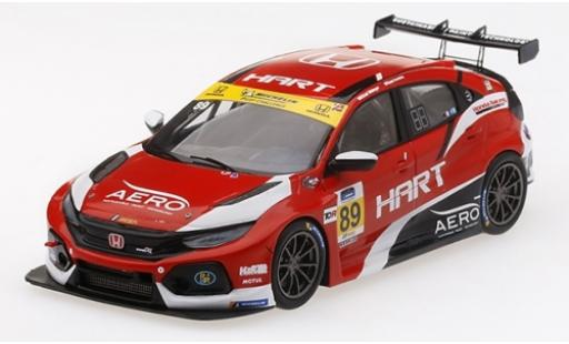 Honda Civic 1/43 TrueScale Miniatures Type R TCR No.89 HART TCR International Series 24h Daytona 2019 C.Gilsinger/R.Eversley miniature