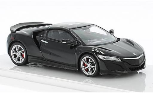 Honda NSX 1/43 TrueScale Miniatures black RHD 2017 diecast model cars