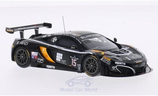 McLaren MP4-12C 1/43 TrueScale Miniatures 12C GT3 No.15 Boutsen Ginion Racing 24h Spa 2014 G.Pantano/K.A.Ojjeh/O.Grougez/F.Vervisch miniature