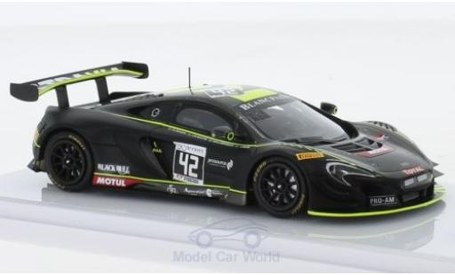 McLaren 650 1/43 TrueScale Miniatures S GT3 No.42 Strakka Racing 24h Spa 2017 N.Leventis/L.Williamson/C.Fleming/O.Webb miniature