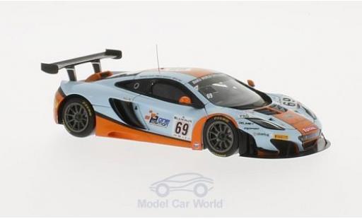 McLaren MP4-12C 1/43 TrueScale Miniatures GT3 No.69 Gulf Racing 24h Spa 2013 A.Carroll/N.Verdonck/R.Bell miniature