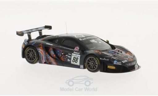 McLaren MP4-12C 1/43 TrueScale Miniatures GT3 No.88 Von Ryan Racing 24h Spa 2013 R.Barff/C.Goodwin/B.Senna miniature