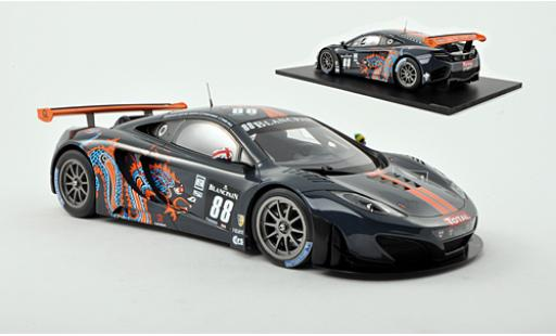 McLaren MP4-12C 1/18 TrueScale Miniatures GT3 No.88 Von Ryan Racing FIA GT3 24h Spa 2012 R.Barff/C.Goodwin/A.Parente/R.Wills miniature