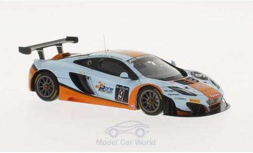 McLaren MP4-12C 1/43 TrueScale Miniatures GT3 No.9 Gulf Racing 24h Spa 2013 M.Wainwright/A.Meyrick/S.Hall miniature