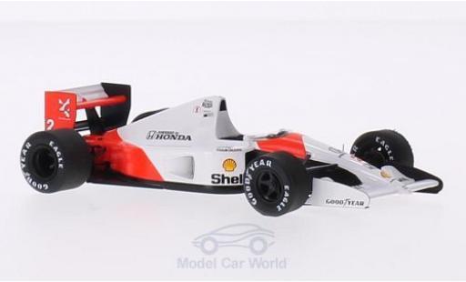 McLaren MP4 1/43 TrueScale Miniatures -6 No.2 -Honda Formel 1 GP Japan 1991 miniature