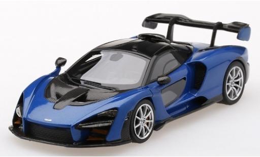 McLaren Senna 1/43 TrueScale Miniatures metallise bleue miniature