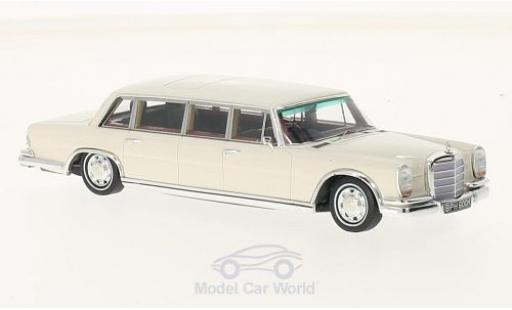 Mercedes 600 Pullmann 1/43 TrueScale Miniatures RHD John Lennon 1970 miniature