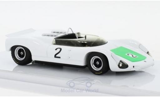 Porsche 910 1967 1/43 TrueScale Miniatures Bergspyder No.2 Europäische Bergmeisterschaft Ollon Villars R.Stommelen miniature