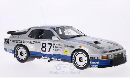 Porsche 924 1982 1/18 TrueScale Miniatures Carrera GTR No.87 Brumos T/A High Tech Radials 24h Le Mans 1982 J.Busby/D.Bundy/M.Mignot miniature