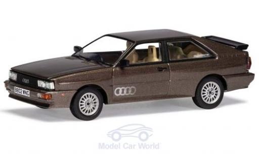 Audi Quattro 1/43 Vanguards quattro metallise marron RHD miniature