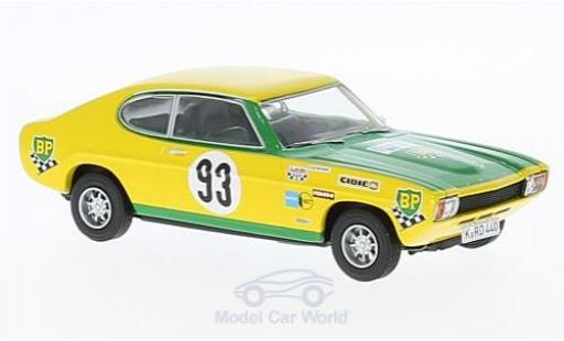 Ford Capri 2600 1/43 Vanguards RS MK1 No.93 Tour de France Auto J.F.Piot/J.Behra modellino in miniatura