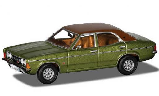Ford Cortina 1/43 Vanguards MkIII 2.0 GXL metallise green/matt-brown RHD 1973 diecast model cars