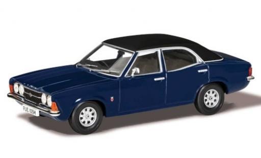 Ford Cortina 1/43 Vanguards MkIII 2000GT bleue/matt-noire RHD 1973 miniature