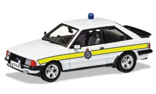 Ford Escort 1/43 Vanguards Mk III XR3i RHD Durham Constabulary 1983 diecast model cars