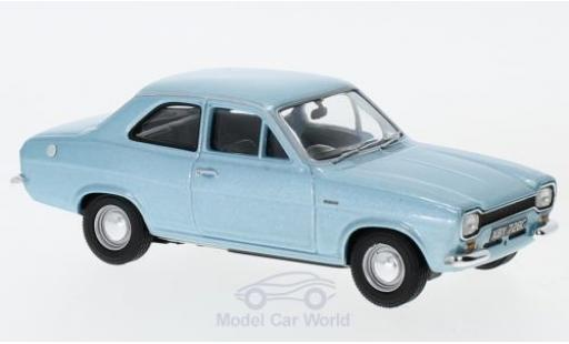 Ford Escort MK1 1/43 Vanguards Mk1 Twin-Cam metallise bleue RHD miniature