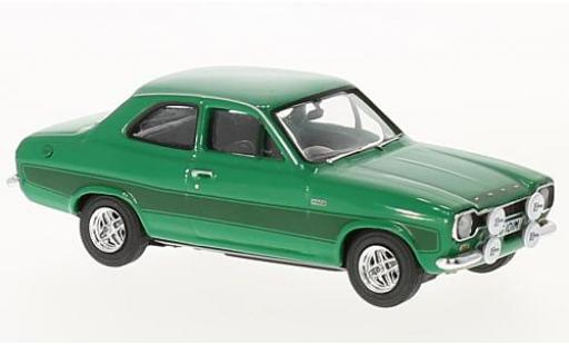Ford Escort 1/43 Vanguards MkI RS2000 verte RHD miniature
