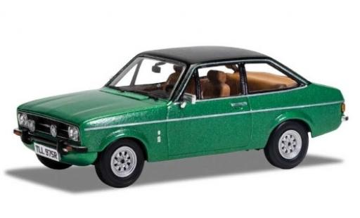 Ford Escort 1/43 Vanguards MkII 1.3 Ghia metallise verde/matt-negro RHD coche miniatura