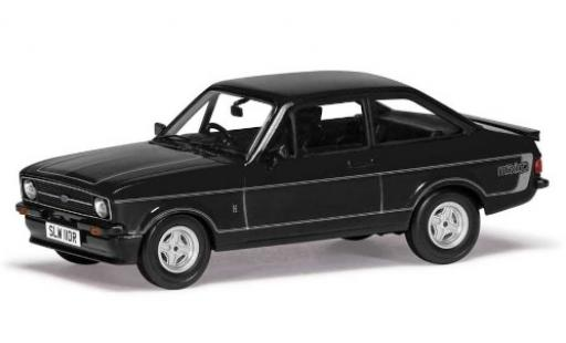 Ford Escort 1/43 Vanguards MkII RS Mexico negro/gris RHD coche miniatura