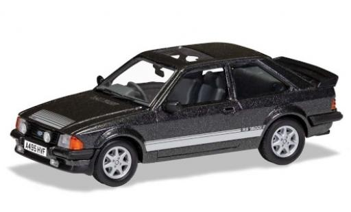 Ford Escort 1/43 Vanguards MkIII RS1600i metallise grey RHD 1983 diecast model cars