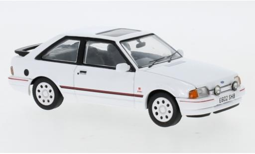 Ford Escort 1/43 Vanguards MkIV XR3i white RHD 1987 diecast model cars